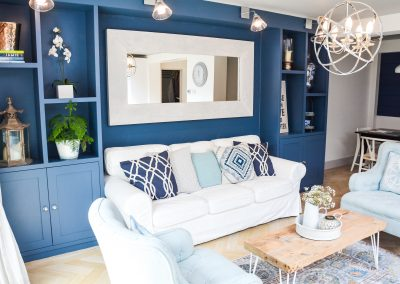 As a professional interior designer, Margi Rose Designs will advise and work with you throughout the project. Click to find out more & view our portfolio.